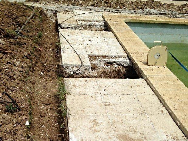 Intervention piscine en pvc armé Salon de Provence