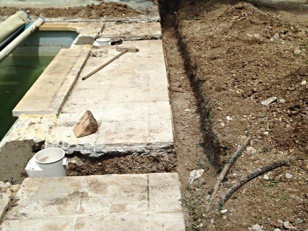 Recherche de fuite piscine en PVC ARME Salon de Provence